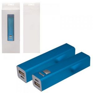 POWER BANK CUADRADA METALICA