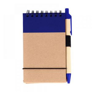 LIBRETA BIO DEGRADABLE POCKET CON PLUMA