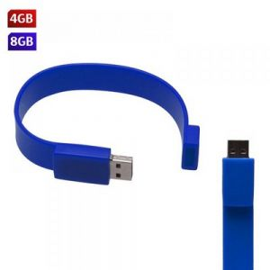 USB PULSERA SILICON 4GB