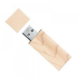 USB MADERA NATURAL 4GB